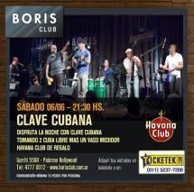 06 de junio - Clave Cubana en Boris Club de Buenos Aires