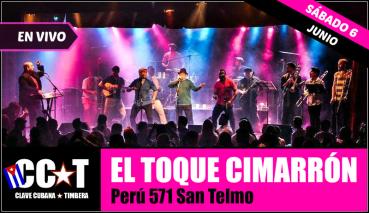 06 de junio - Clave Cubana en El Toque Cimarrón de san Telmo, Buenos Aires