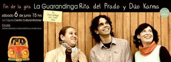 06 de junio - Dúo Karma y Rita Del Prado en el Centro Cultural Kirchner de Buenos Aires