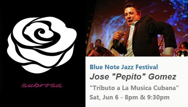 06 de Junio - José Pepito Gómez en Subrosa de Nueva York