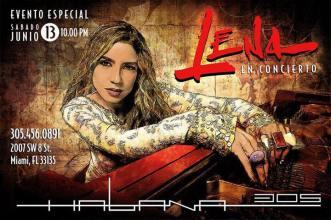 13 de junio - Lena Burke en Habana 305 de Miami, Florida