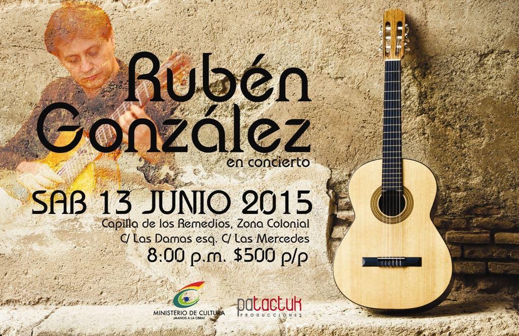 13 de junio - Rubén González en la Capilla de los Remedios, Santo Domingo