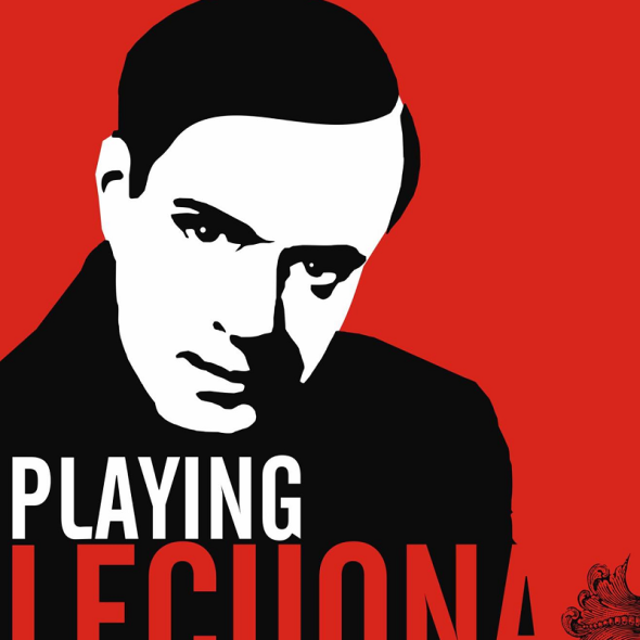 Cartel del documental Playing Lecuona