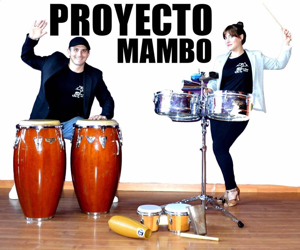Estudio de baile y ritmos latinos Proyecto Mambo